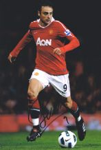 Dimitar Berbatov Autograph Signed Photo